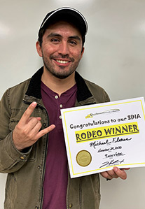 Rodeo Winner - Michael Flores